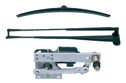 Windshield wiper for rolling stock